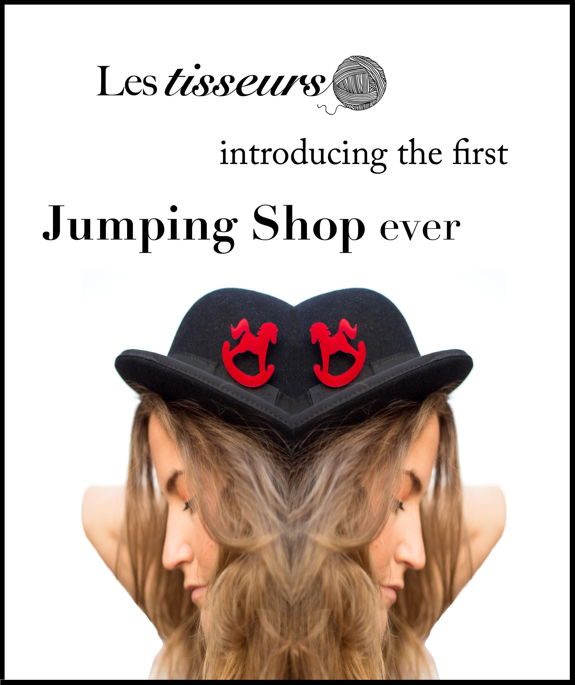 Les Tisseurs, la primera Jumping Shop en Internet